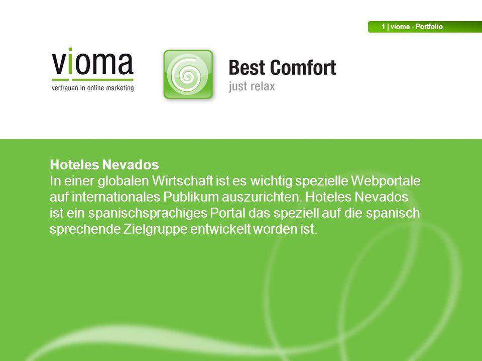 Hoteles Nevados In einer globalen Wirtschaft ist es wichtig spezielle Webportale auf internationales Publikum auszurichten.