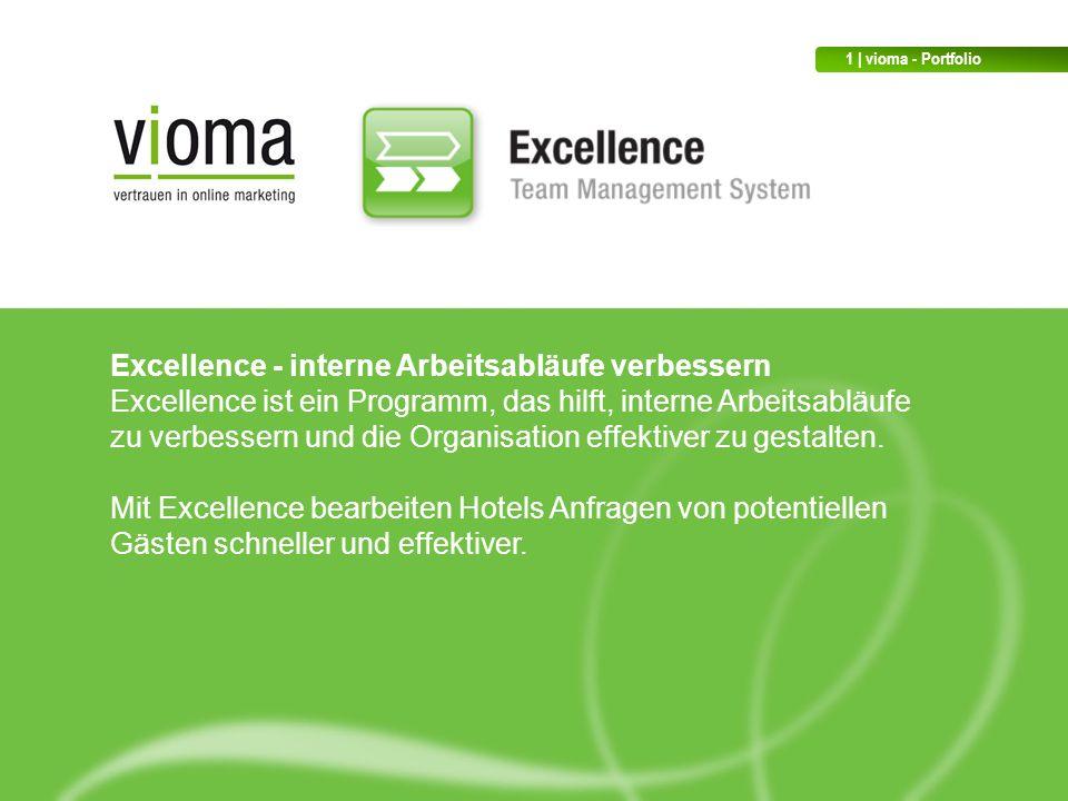 Excellence - interne Arbeitsabläufe verbessern Excellence ist ein Programm, das hilft, interne Arbeitsabläufe zu verbessern und die Organisation effektiver zu gestalten.