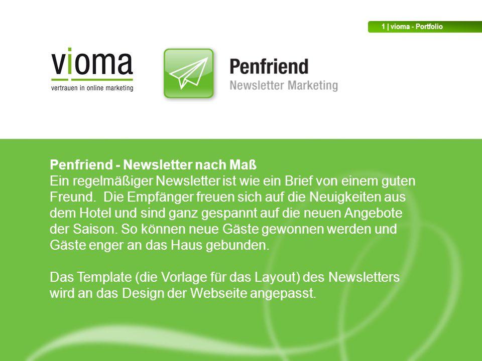 Penfriend - Newsletter nach Maß Ein regelmäßiger Newsletter ist wie ein Brief von einem guten Freund.