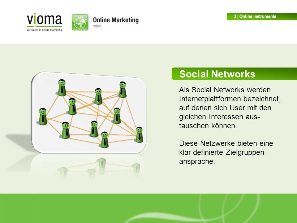Social Networks Als Social Networks werden Internetplattformen bezeichnet, auf denen sich User mit den gleichen Interessen aus- tauschen können.