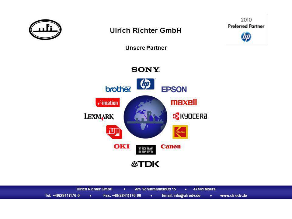 Ulrich Richter GmbHAm Schürmannshütt 1547441 Moers Tel: +49(2841)176-0Fax: +49(2841)176-66Email: info@uli-edv.dewww.uli-edv.de Ulrich Richter GmbH Uns