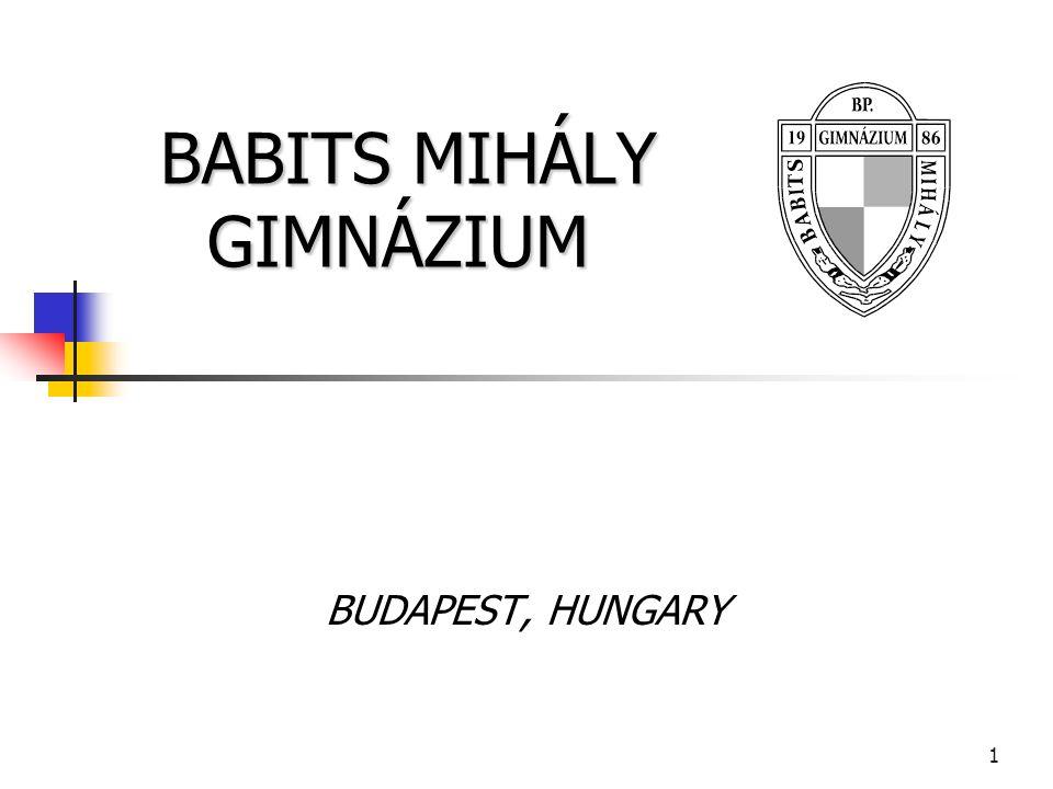 2 Babits Mihály Gimnázium Auf dem Gebiet von Újpest leben seit 2000 Jahren Menschen, hauptsächlich wegen der Nähe der Donau.