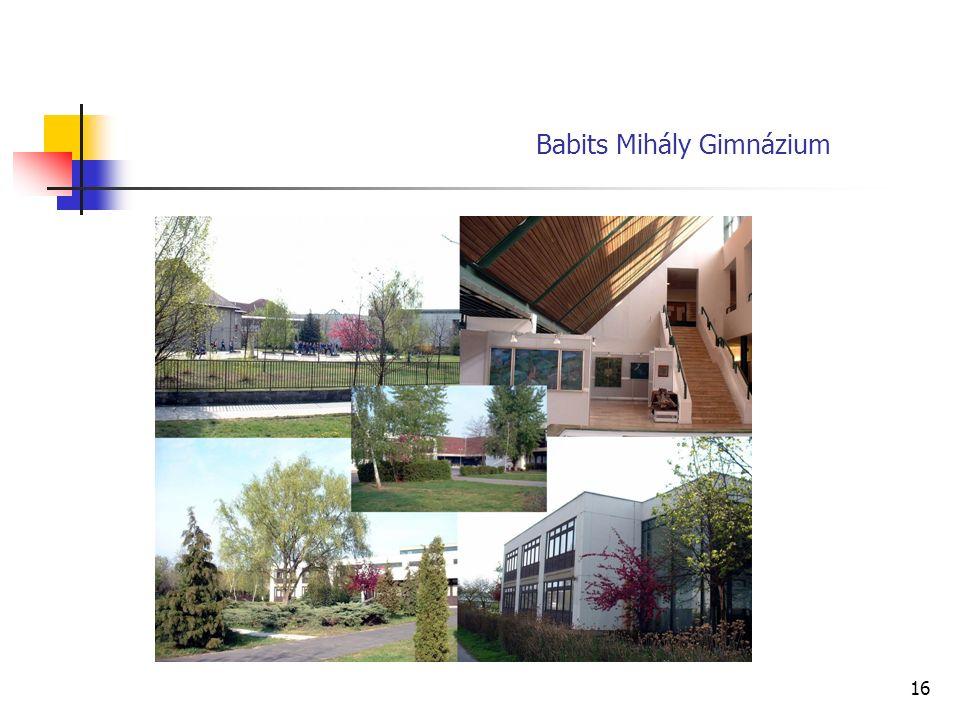 16 Babits Mihály Gimnázium