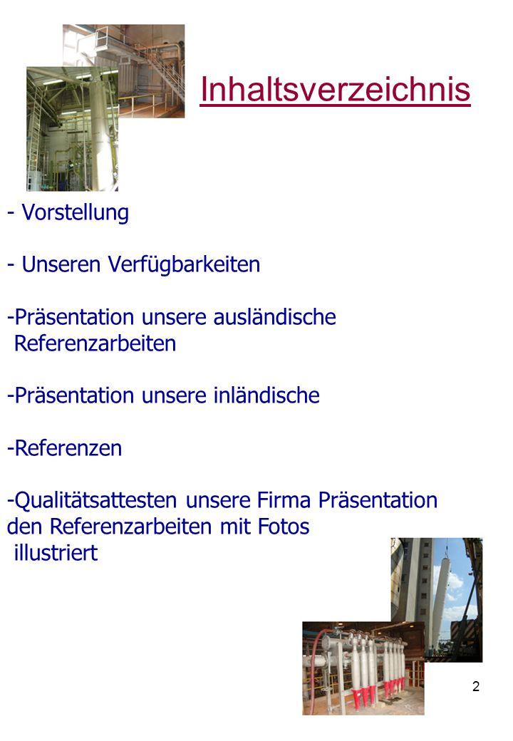 3 Vorstellung Firmenname: I.M.H.Kft.