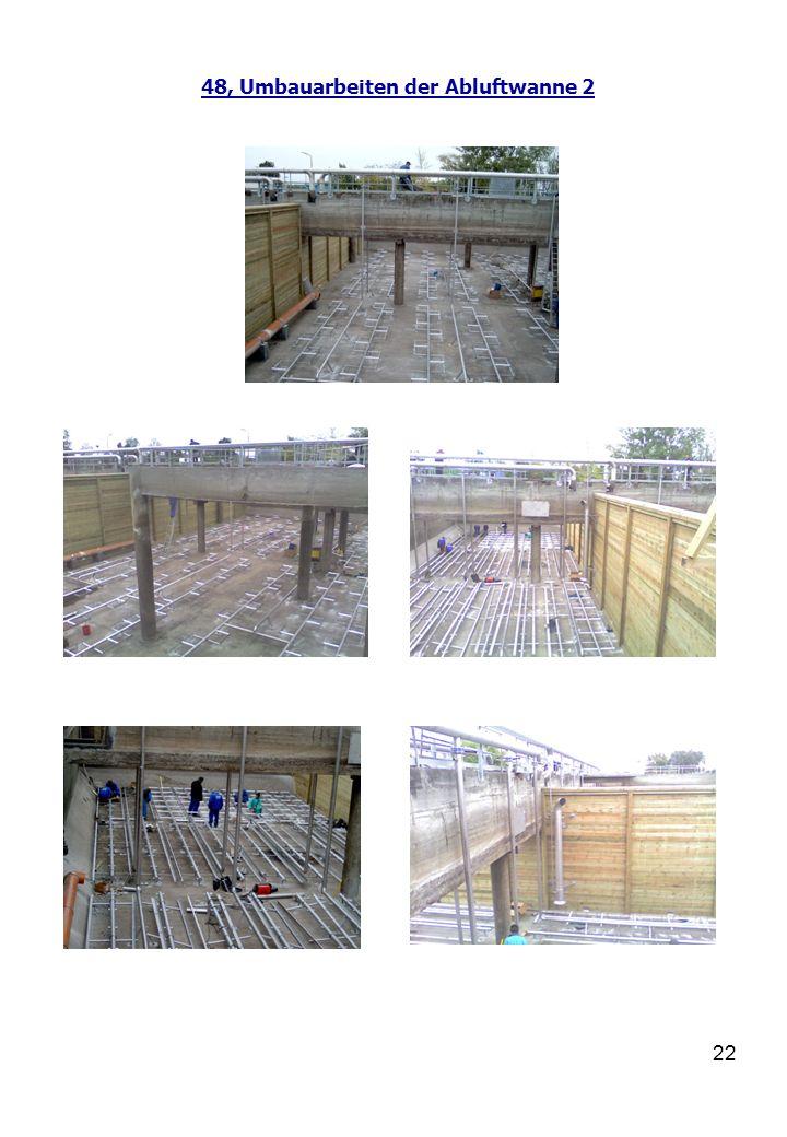 23 48, Ausführungsarbeiten bei der Schlammwasseranlage
