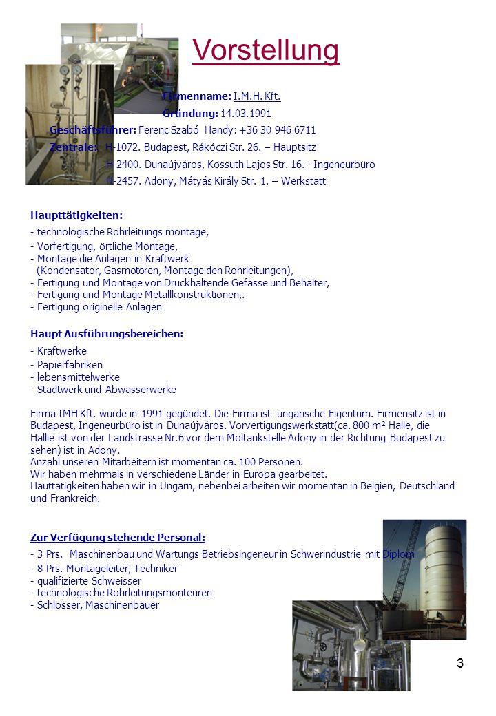 4 Verfügbarkeiten Postadresse: H-2401.