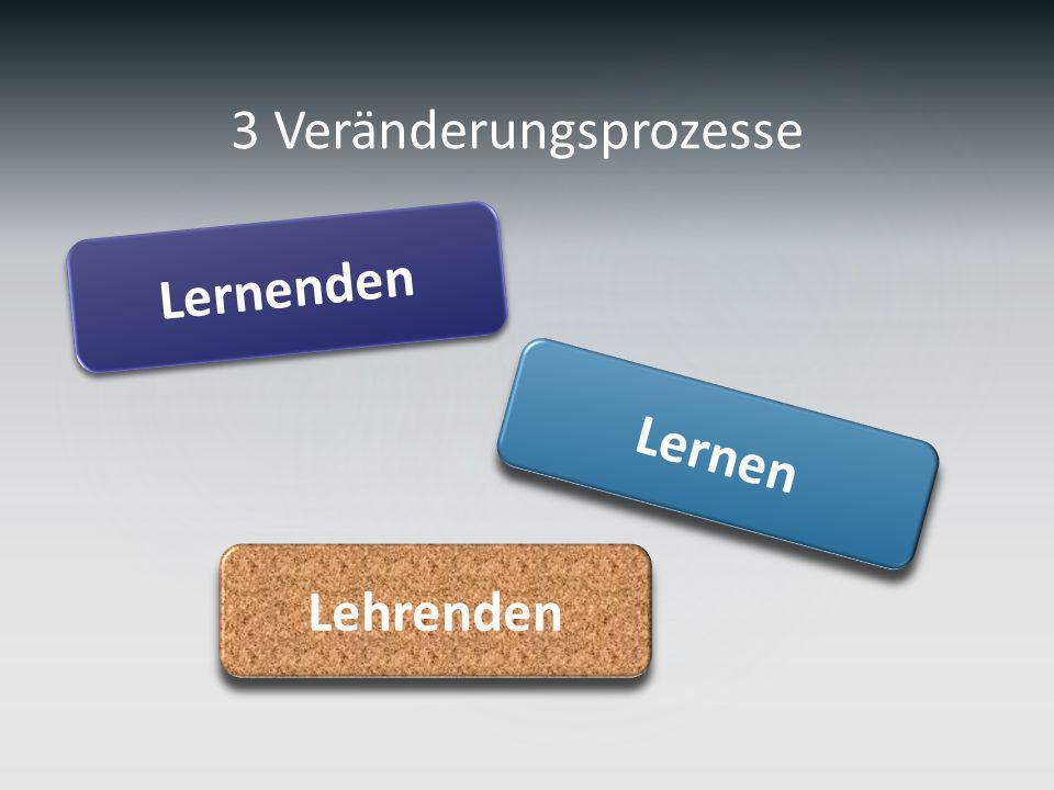 Lernen Lernenden Lehrenden 3 Veränderungsprozesse