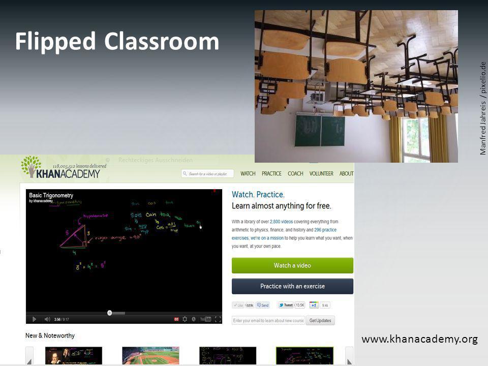 Flipped Classroom www.khanacademy.org Manfred Jahreis / pixelio.de