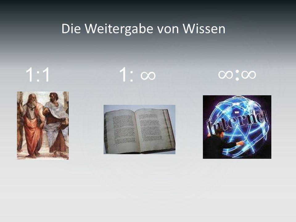 1:1 Die Weitergabe von Wissen