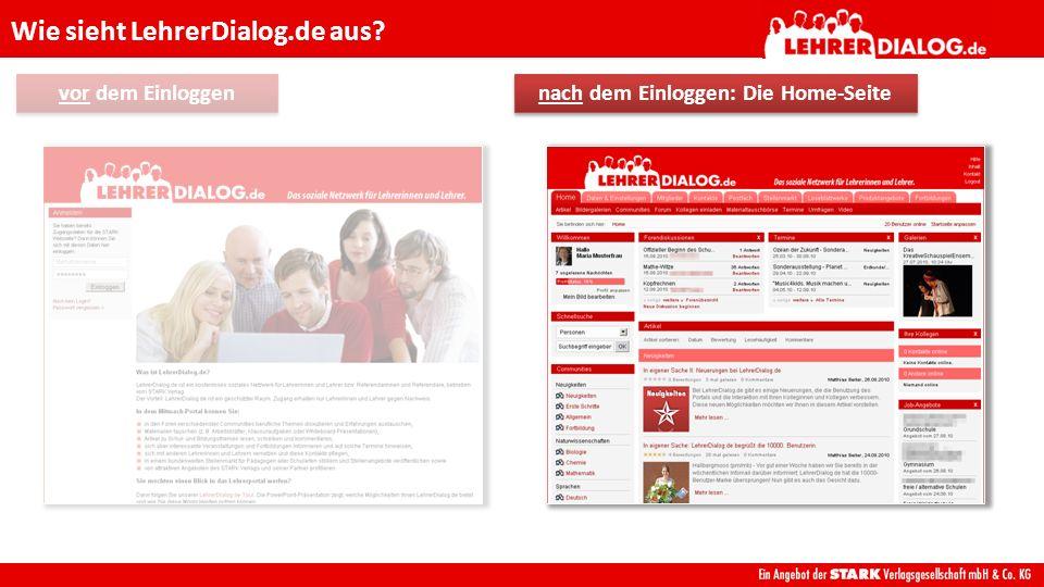 LehrerDialog.de ist … Was ist LehrerDialog.de.