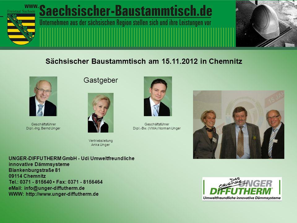 Hallo ihr Leute UNGER-DIFFUTHERM GmbH - Udi Umweltfreundliche innovative Dämmsysteme Blankenburgstraße 81 09114 Chemnitz Tel.: 0371 - 815640 Fax: 0371