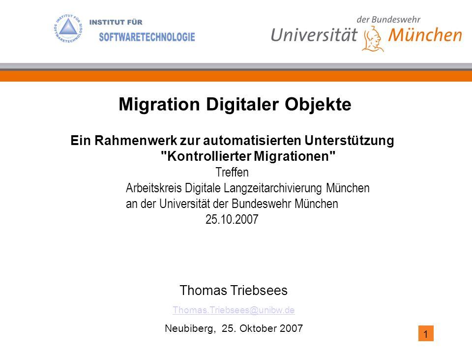 1 Thomas Triebsees Thomas.Triebsees@unibw.de Neubiberg, 25.
