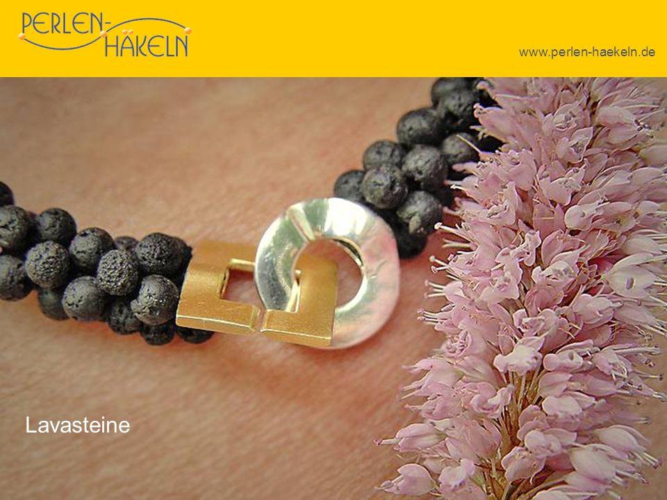 www.perlen-haekeln.de Lavasteine