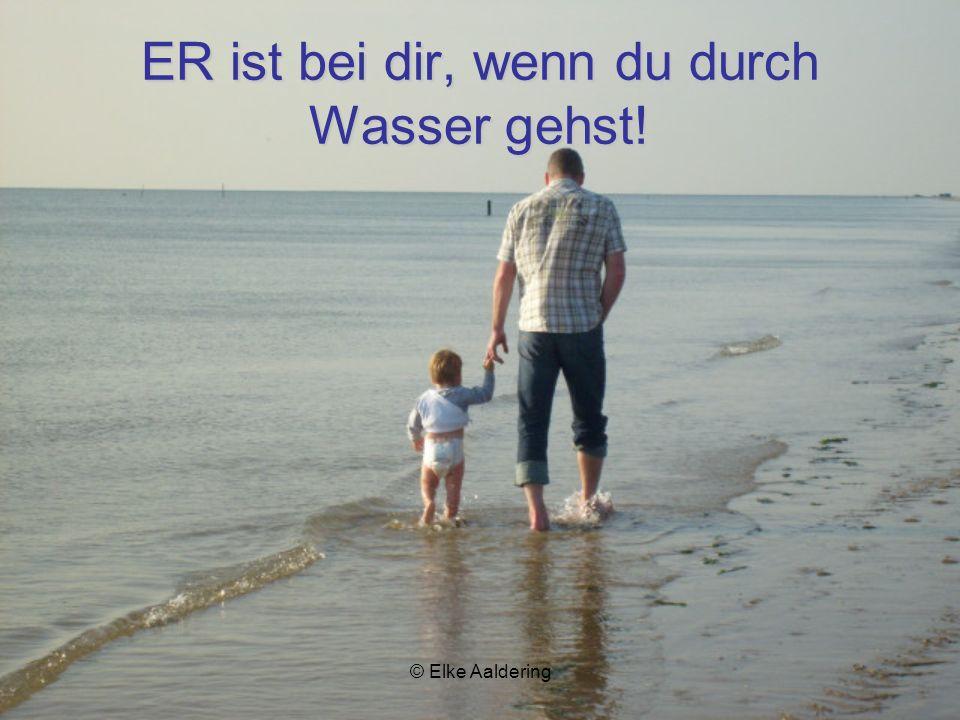© Elke Aaldering Wenn du müde bist und keine Kraft hast, wird ER dich neu stärken!