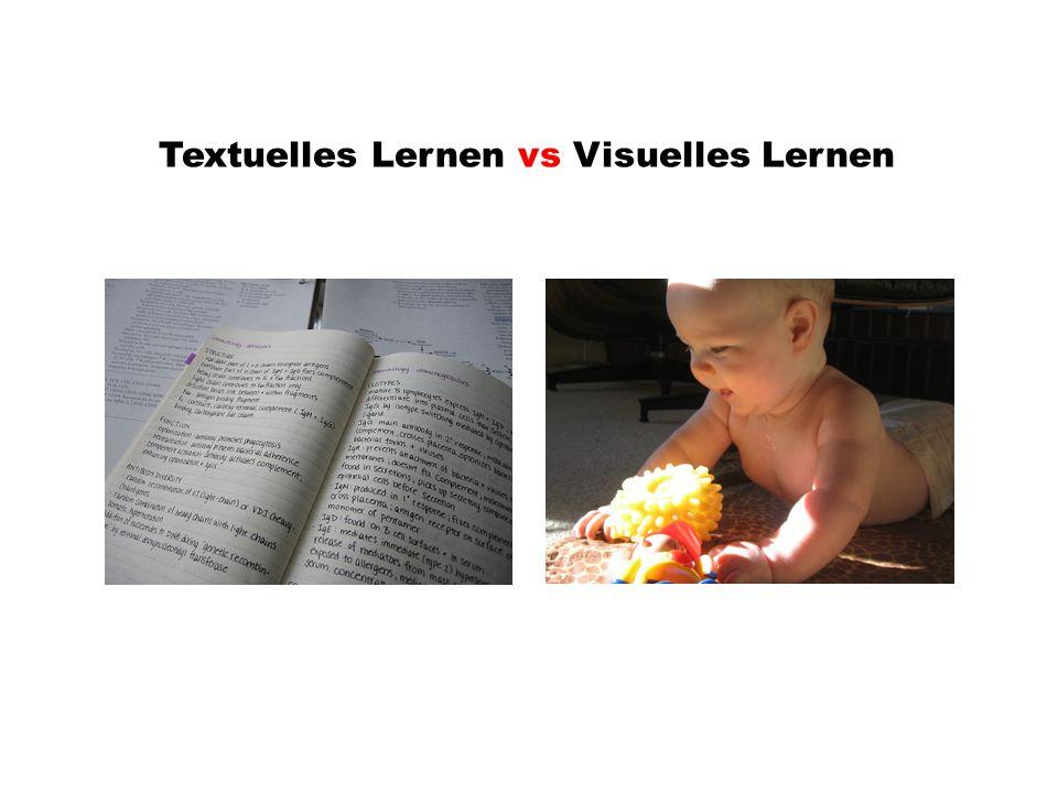 Textuelles Lernen vs Visuelles Lernen