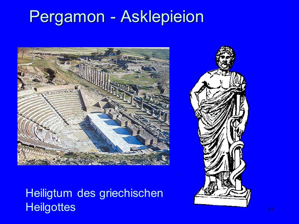45 Pergamon - Asklepieion Heiligtum des griechischen Heilgottes