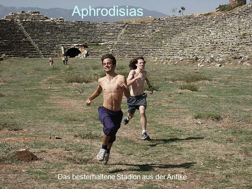 55 Aphrodisias Das besterhaltene Stadion aus der Antike