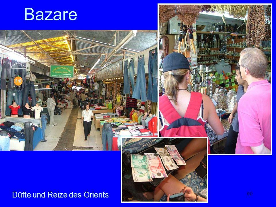 60 Bazare Düfte und Reize des Orients
