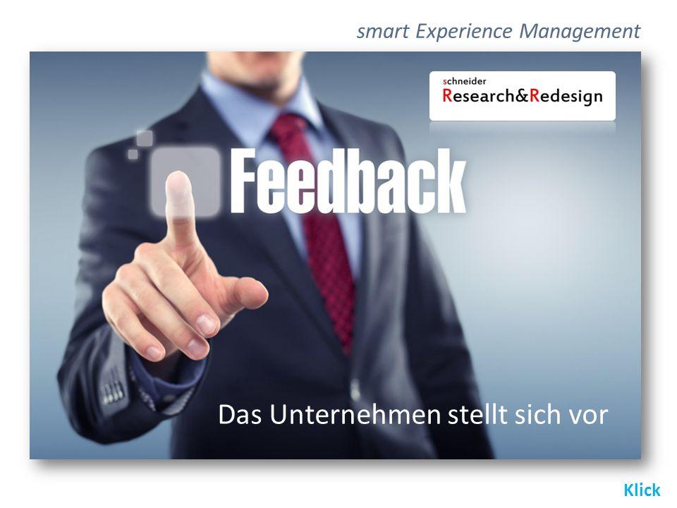Das Unternehmen stellt sich vor Klick smart Experience Management