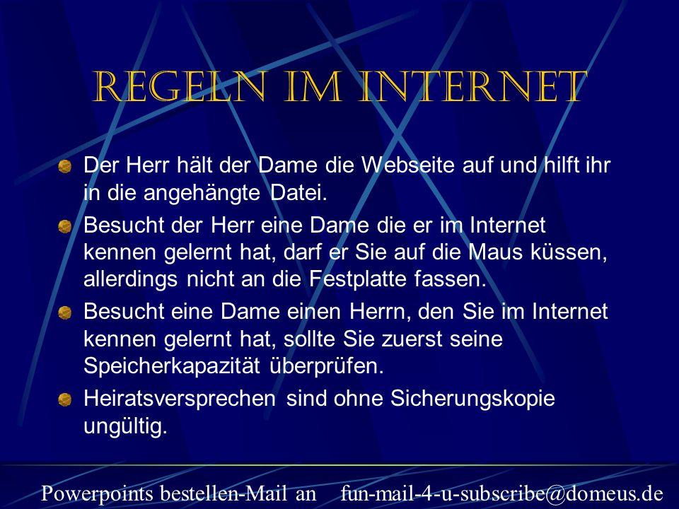 Powerpoints bestellen-Mail an fun-mail-4-u-subscribe@domeus.de Der Herr hält der Dame die Webseite auf und hilft ihr in die angehängte Datei. Besucht
