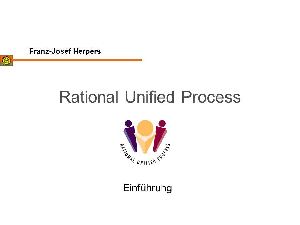 Franz-Josef Herpers Rational Unified Process Einführung