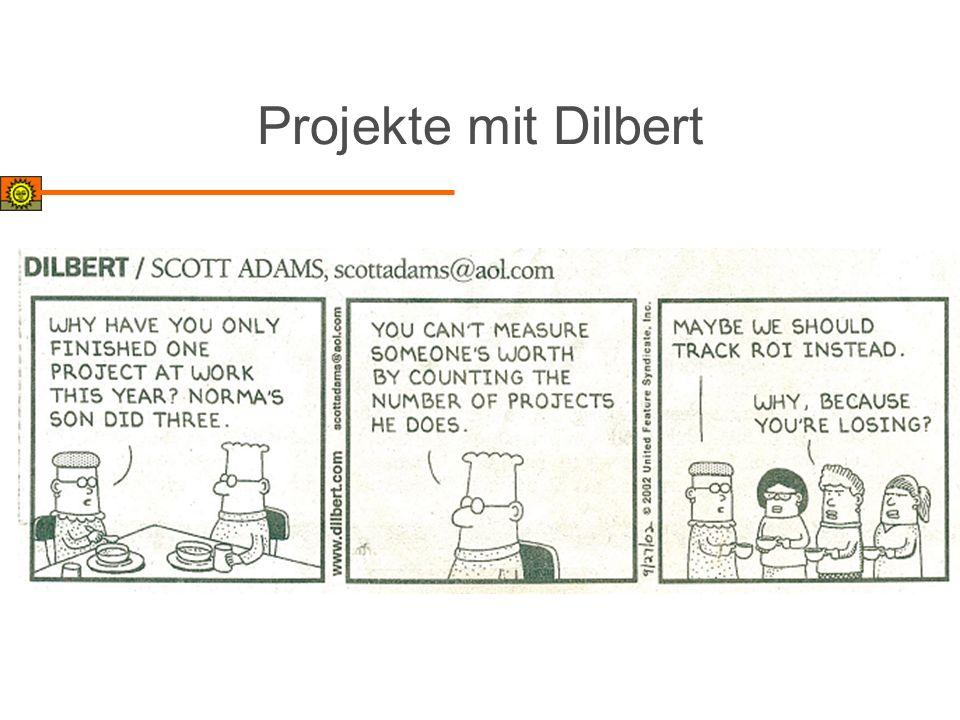 Projekte mit Dilbert