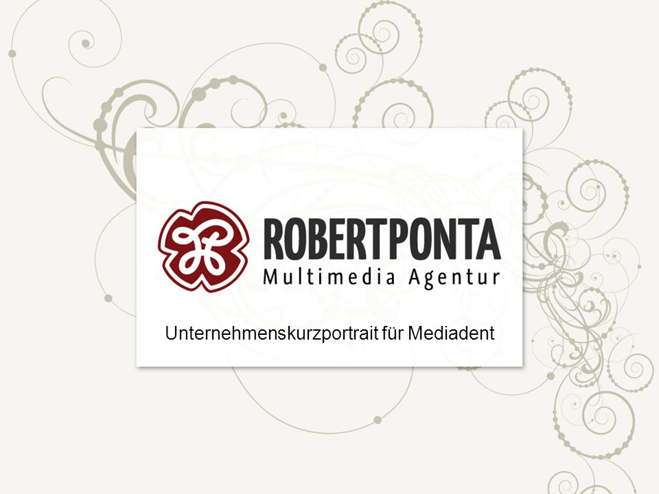 Unternehmenskurzportrait für Mediadent