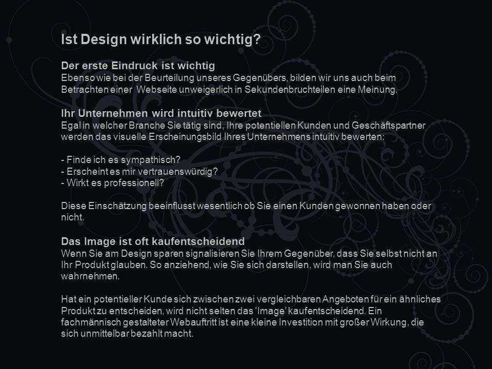 Ist Design wirklich so wichtig.