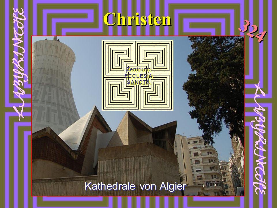 Christen 324 Kathedrale von Algier Zentrum: ECCLESIA SANCTA