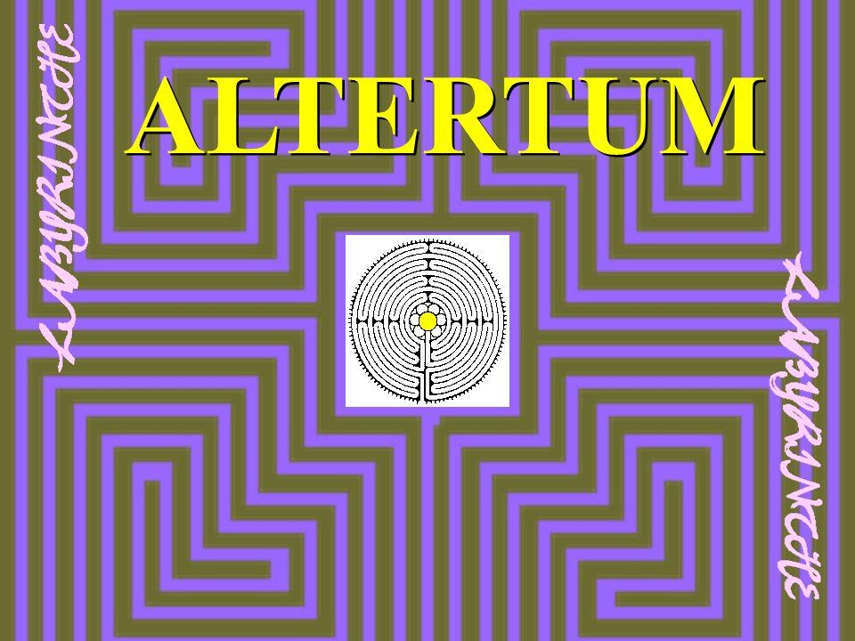 LABYRINTH international Die Frau bildet mit ihrem Körper das Orientierungskreuz der Labyrinthstruktur.