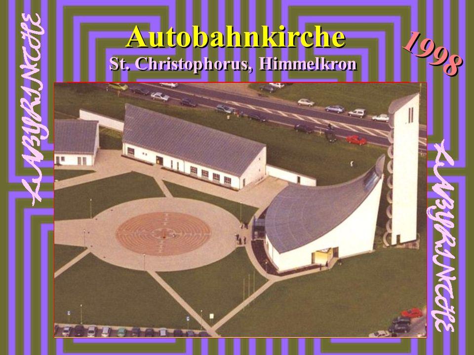 Autobahnkirche St. Christophorus, Himmelkron 1998