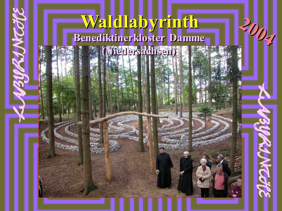 Waldlabyrinth 2004 Benediktinerkloster Damme (Niedersachsen)