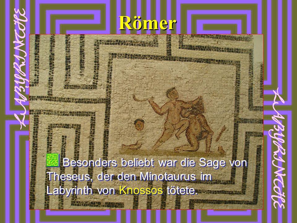 Das älteste christliche Labyrinth befand sich in der Basilika des hl.