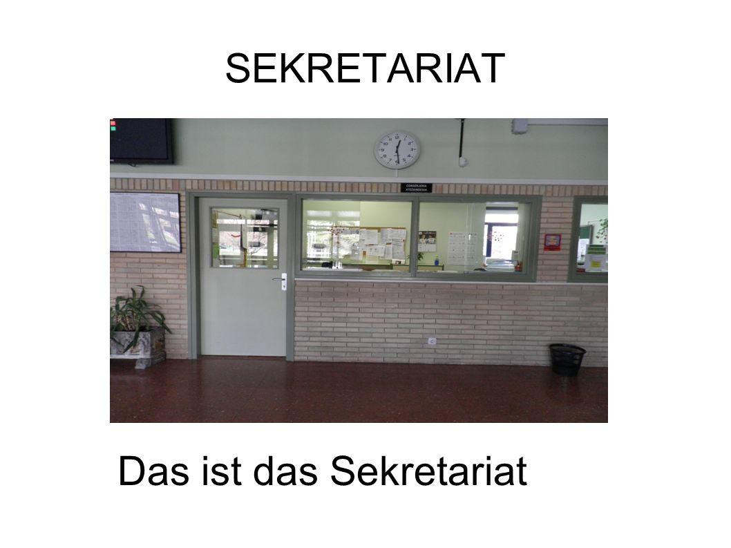 ETAGEN Das Gymnasium hat drei Etagen