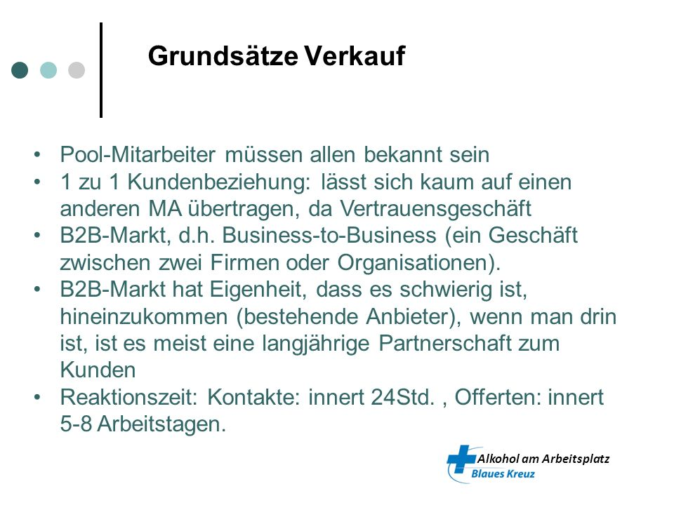 Alkohol am Arbeitsplatz 3. Marketing-Mix, Preise und Instrumente