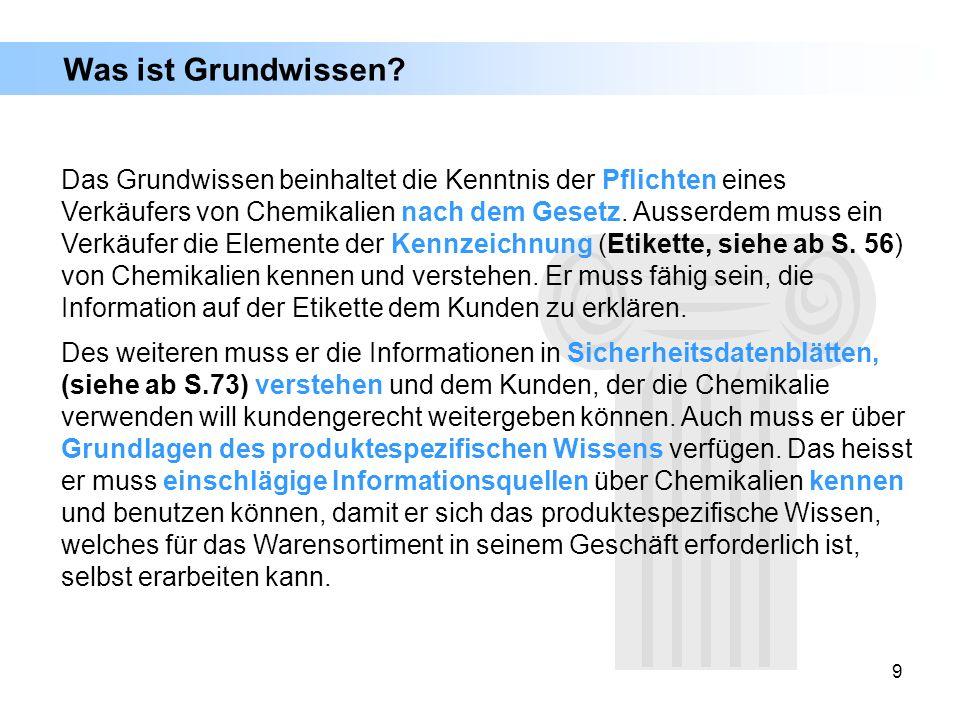 190 Biozide lassen sich laut der Verordnung für Biozidprodukte in der Schweiz in folgende vier Hauptgruppen unterteilen: Hauptgruppe 1: Desinfektionsmittel und allgemeine Biozidprodukte Hauptgruppe 2: Schutzmittel Hauptgruppe 3: Schädlingsbekämpfungsmittel Hauptgruppe 4: Sonstige Biozidprodukte Biozide: Diese Hauptgruppen wiederum enthalten 23 Untergruppen (Produktarten).