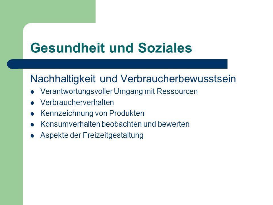 Gesundheit und Soziales Nachhaltigkeit und Verbraucherbewusstsein Verantwortungsvoller Umgang mit Ressourcen Verbraucherverhalten Kennzeichnung von Pr