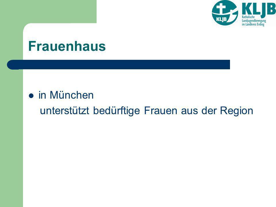Frauenhaus in München unterstützt bedürftige Frauen aus der Region