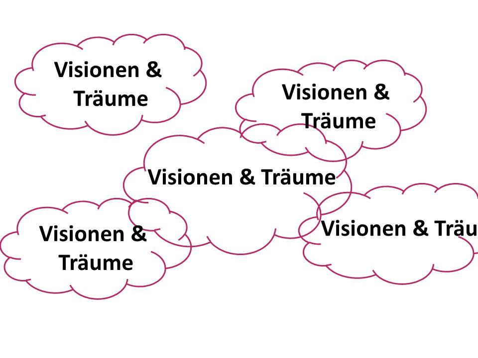 Visionen & Träume Visionen & Träume Visionen & Träume Visionen & Träume