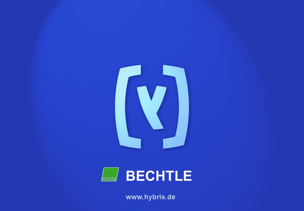 hybris AG BECHTLE www.hybris.de