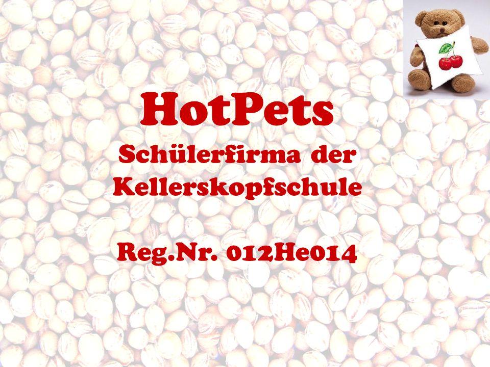HotPets Schülerfirma der Kellerskopfschule Reg.Nr. 012He014