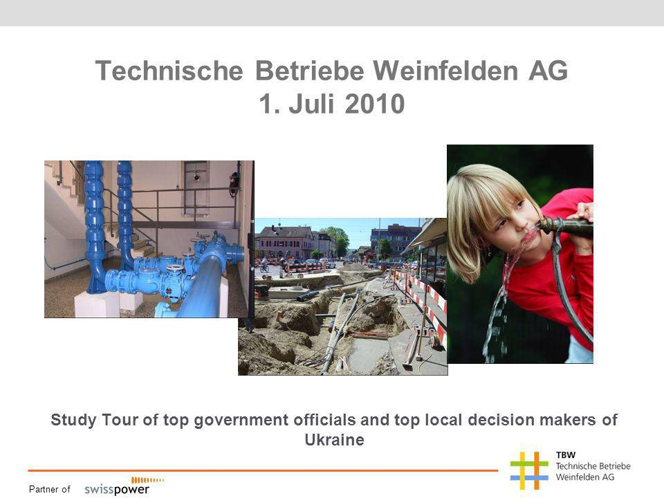 Partner of Technische Betriebe Weinfelden AG 1.