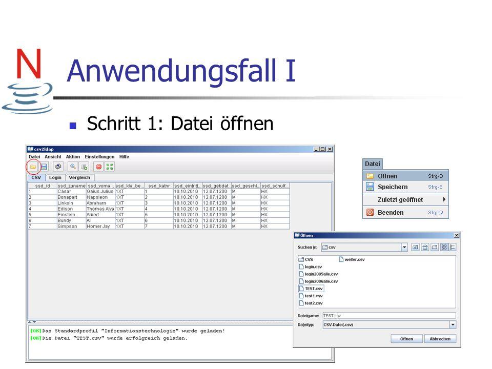 Codebeispiel Homeverzeichnis erstellen III Aufruf: erstelleVerzeichnis(02, altercontext); Informationen setzen über JNDI wird das Verzeichnis erstellt…