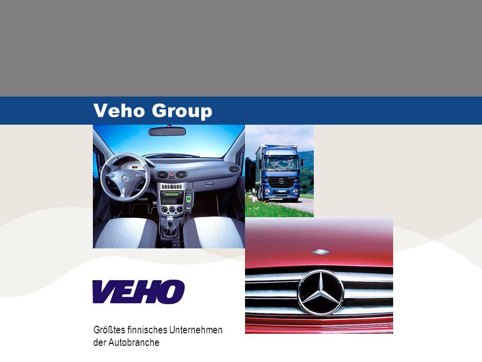 Veho Group Größtes finnisches Unternehmen der Autobranche