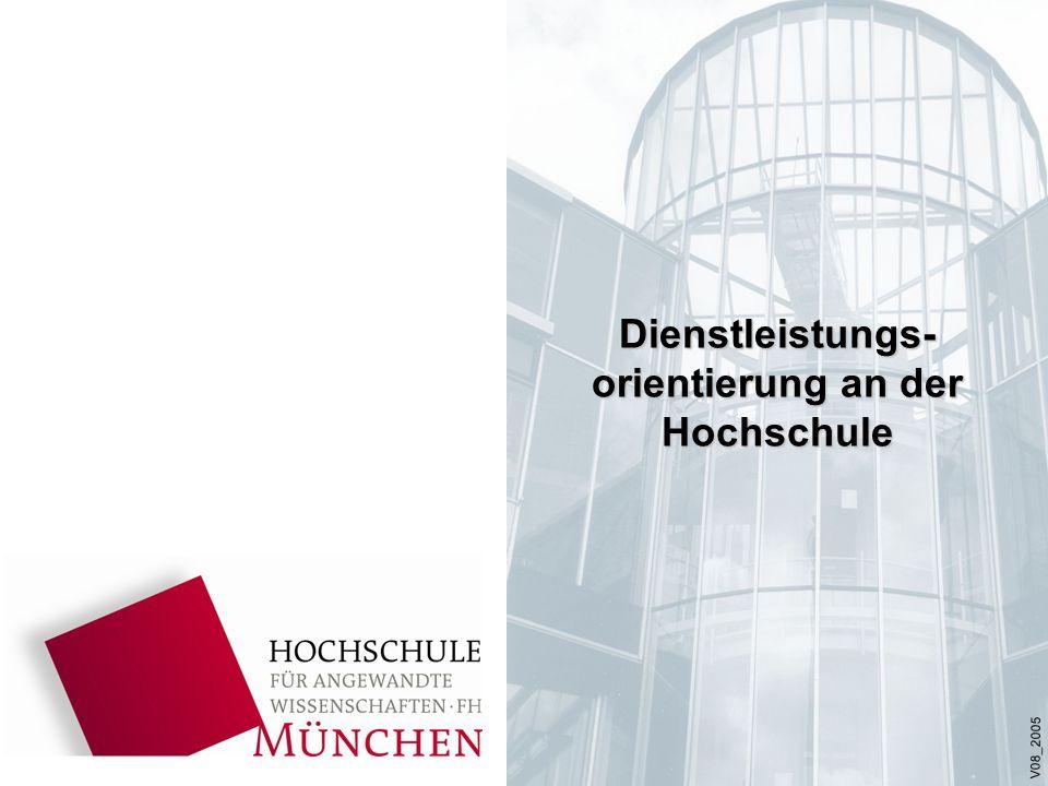 Dienstleistungs- orientierung an der Hochschule V08_2005