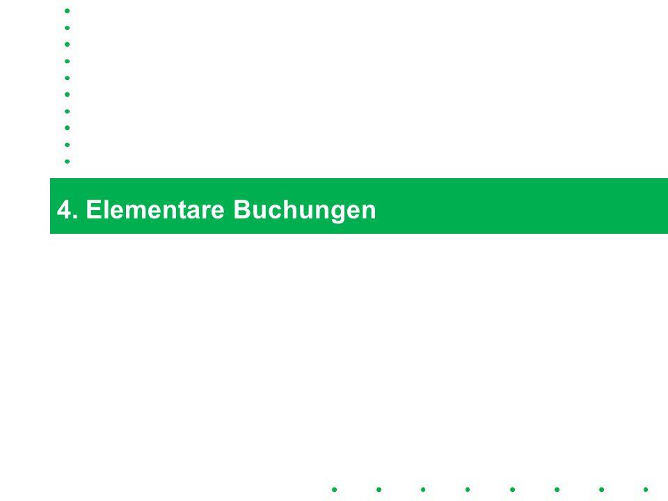 15 4. Elementare Buchungen