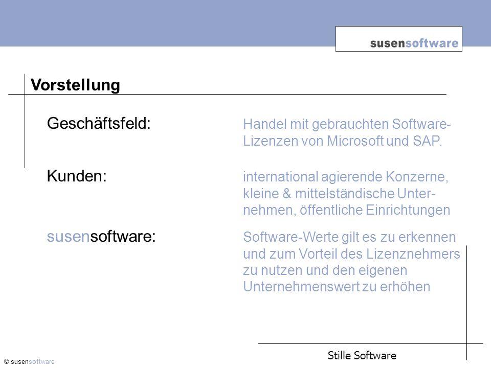 Lizenzmodelle: Microsoft © susensoftware 4.