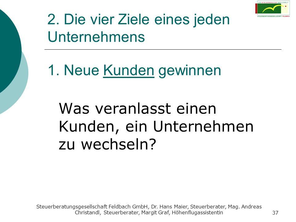 Steuerberatungsgesellschaft Feldbach GmbH, Dr. Hans Maier, Steuerberater, Mag. Andreas Christandl, Steuerberater, Margit Graf, Höhenflugassistentin 37