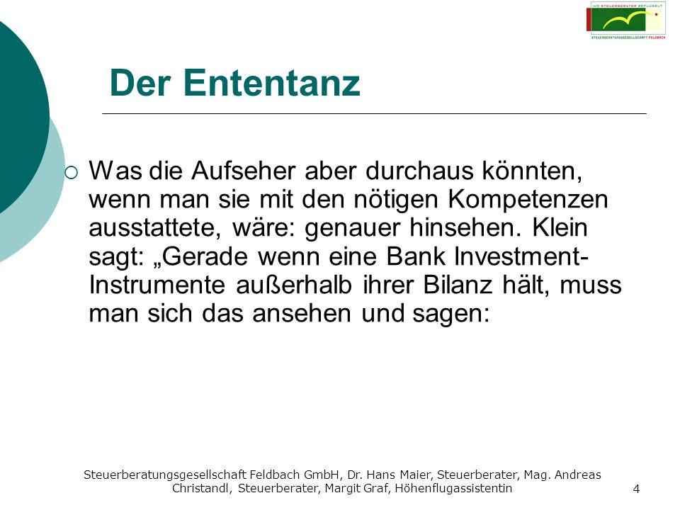 Steuerberatungsgesellschaft Feldbach GmbH, Dr. Hans Maier, Steuerberater, Mag. Andreas Christandl, Steuerberater, Margit Graf, Höhenflugassistentin 4