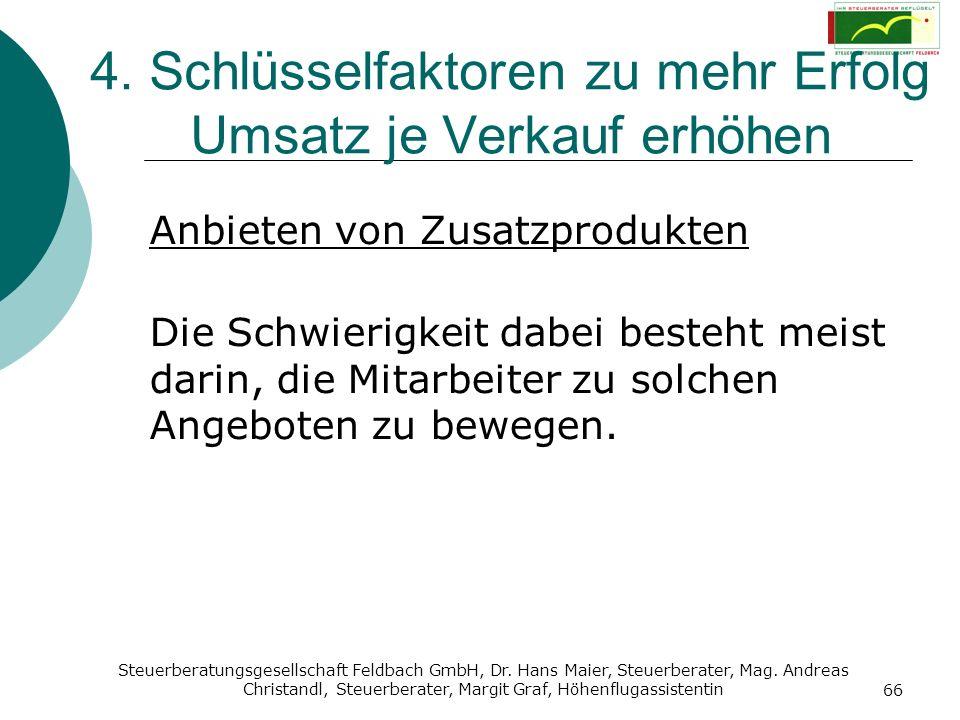 Steuerberatungsgesellschaft Feldbach GmbH, Dr. Hans Maier, Steuerberater, Mag. Andreas Christandl, Steuerberater, Margit Graf, Höhenflugassistentin 66